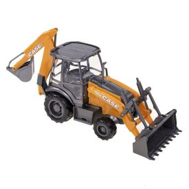 Máquina Retroescadeira Usual Brinquedos Case Construction 580N - 402