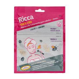 Máscara Capilar Detox + Touca Ricca - 30g