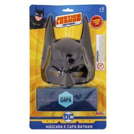 Máscara E Capa Batman Liga Da Justiça Rosita - 9475