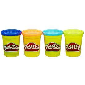 Massinha de Modelar 4 Potes Play-Doh Hasbro - COLORIDO