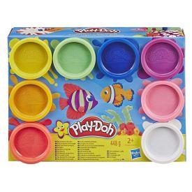 Massa De Modelar Play-Doh 8 Potes Clássico E5062 Hasbro - Colorido