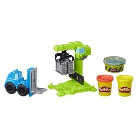 Massa de Modelar Play-Doh Guindaste e Empilhadeira Hasbro - E5400