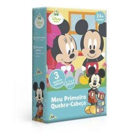 Meu Primeiro Quebra-Cabeça Disney Toyster  - 2632 - Azul
