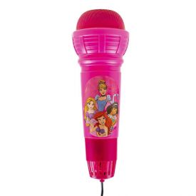 Microfone Grande Eco Princesas Etitoys - DY-992