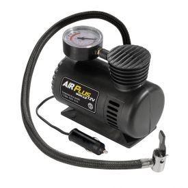 Mini Compressor De Ar Air Plus 12V 50W Schulz - Preto