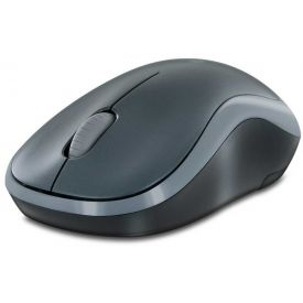 Mini Mouse Wireless Logitech M185 - CINZA