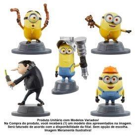 Minions Mini Figura 5Cm Mattel - GMJ59