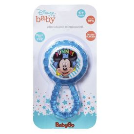 Mordedor Chocalho Babygo Disney Dermiwil - Mickey