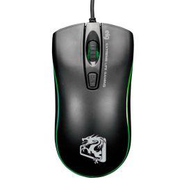 Mouse Gamer Dragon War 2400DPI ELG - Preto