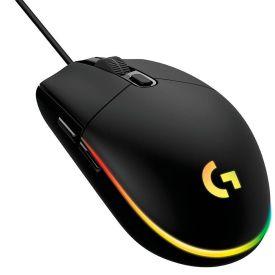 Mouse Gamer Lightsync G203 8.000 Dpi Logitech - Preto