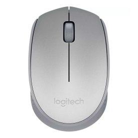 Mouse Sem Fio M170 Com Usb Rc/Nano Logitech - Prata