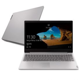 "Notebook Ideapad S145 Celeron/500Gb/4Gb/Win10 15,6"" Lenovo - Prata"