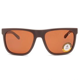 Óculos De Sol Quadrado Masculino Marrom Cobra D'água  - DIVERSOS