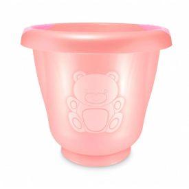 Ofurô para Bebê 17,5 Litros Fofura Majestic Yoyo Baby - Rosa