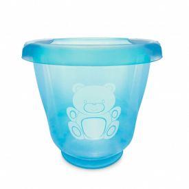 Ofurô para Bebê 17,5 Litros Translúcido Yoyo Baby - Azul