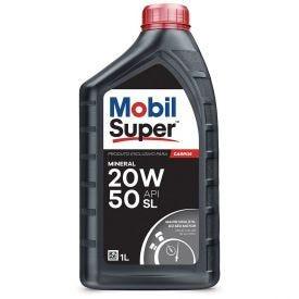 Óleo Mobil Super 1000 20W-50 Mineral Api Sl - 1 Litro