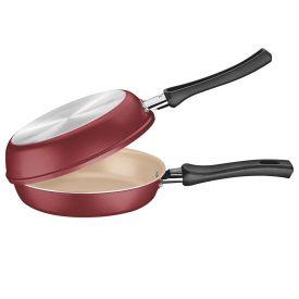 Omeleteira De Alumínio 20Cm Napoli Tramontina - Vermelho