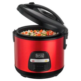 Panela de Arroz Superrice Vermelha Black & Decker