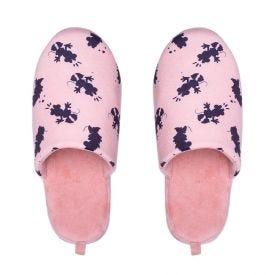 Pantufa Feminina Minnei Mouse Disney - Rosa 35-36