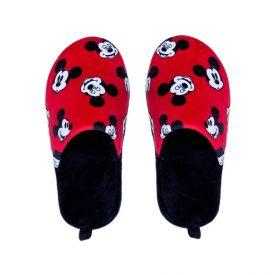 Pantufa Infantil Unissex Mickey Disney - Preto 27-28