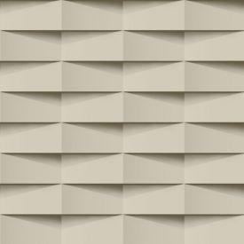 Papel De Parede 9,5M X 53Cm Havan - 3D Bege
