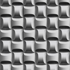 Papel De Parede 9,5M X 53Cm Havan - 3D Grafite