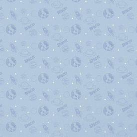 Papel De Parede 9,5M X 53Cm Havan - Espaço Azul