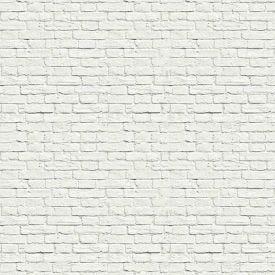Papel De Parede 9,5M X 53Cm Havan - Tijolo Branco BZ2018-2