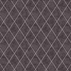 Papel De Parede 9,5M X 53Cm Havan - Losango Preto 6522