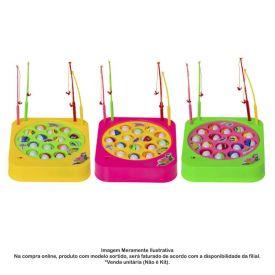 Pega Peixe Quadrado Com 15 Peixes Art Brink -  842644