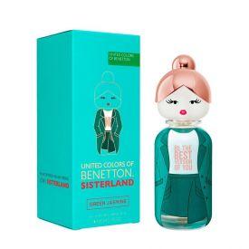 Perfume Sisterland Green Jasmine Benetton - 80ml