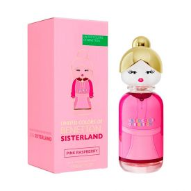 Perfume Sisterland Pink Raspeberry Benetton - 80ml