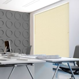 Persiana 1,40x1,30m em PVC para Quarto e Sala Evolux - Bege
