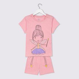 Pijama 1 a 3 Anos Fada Yoyo Kids Rose