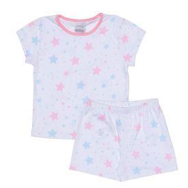 Pijama 1 a 3 anos Meia Malha Estampado Alakazoo