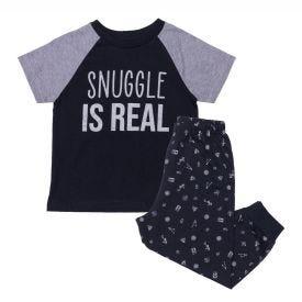 Pijama 1 a 3 anos Snuggle Yoyo Kids Preto