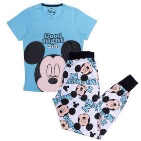 Pijama 12 a 16 anos Mickey Sortidos Disney Azul Médio