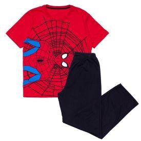 Pijama 12 a 16 Anos Spider Marvel Vermelho/Preto