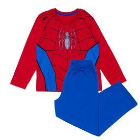 Pijama 4 a 10 Anos Homem Aranha Marvel Vermelho/Azul