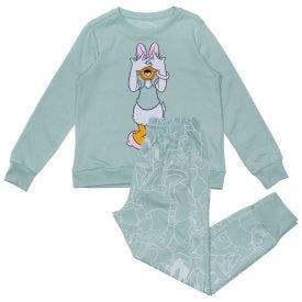 Pijama 4 a 10 Anos Margarida Disney Verde