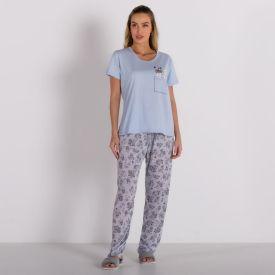 Pijama A Nap Com Calça Holla Azul