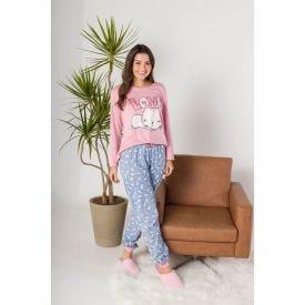 Pijama Cat In Love Holla Rosa