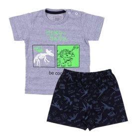 Pijama de Bebê Brilha no Escuro Dinos Yoyo Baby