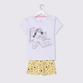Pijama De Bebê Fada Love Yoyo Baby Branco