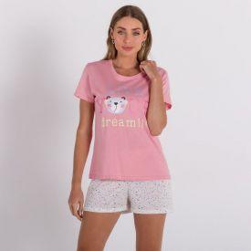 Pijama Dream Holla Rosa