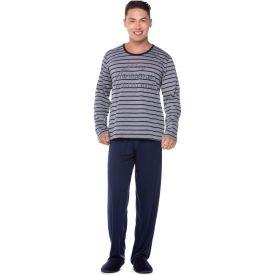 Pijama Listras Vibes Marc Alain Estampado
