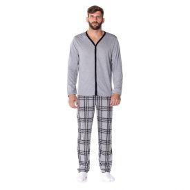 Pijama Longo Aberto Risk