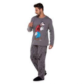 Pijama Longo Pateta Disney Chumbo