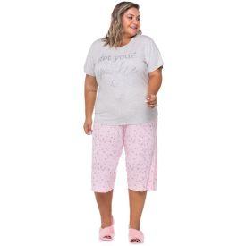 Pijama Meia Estação Sparkle Plus Size Holla Mescla