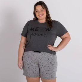 Pijama Plus Size De Viscose Holla